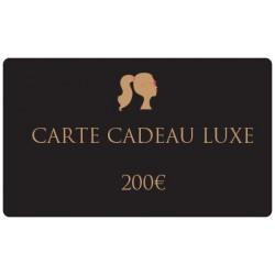 200€ Carte cadeau gourmand