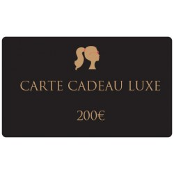 200€ Luxury gift card