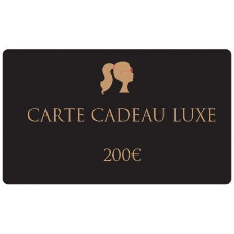 200€ Gourmet gift card