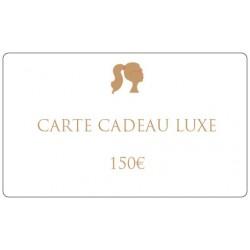150€ Luxury gift card