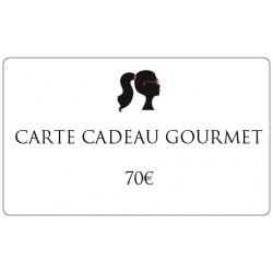 70€ Gourmet gift card