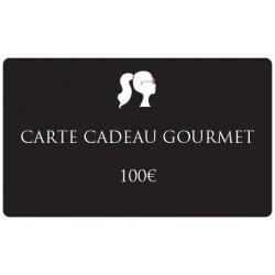 100€ Carte cadeau gourmand