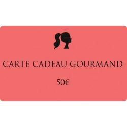 50€ Gourmet gift card