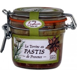 Provence pâté with almonds
