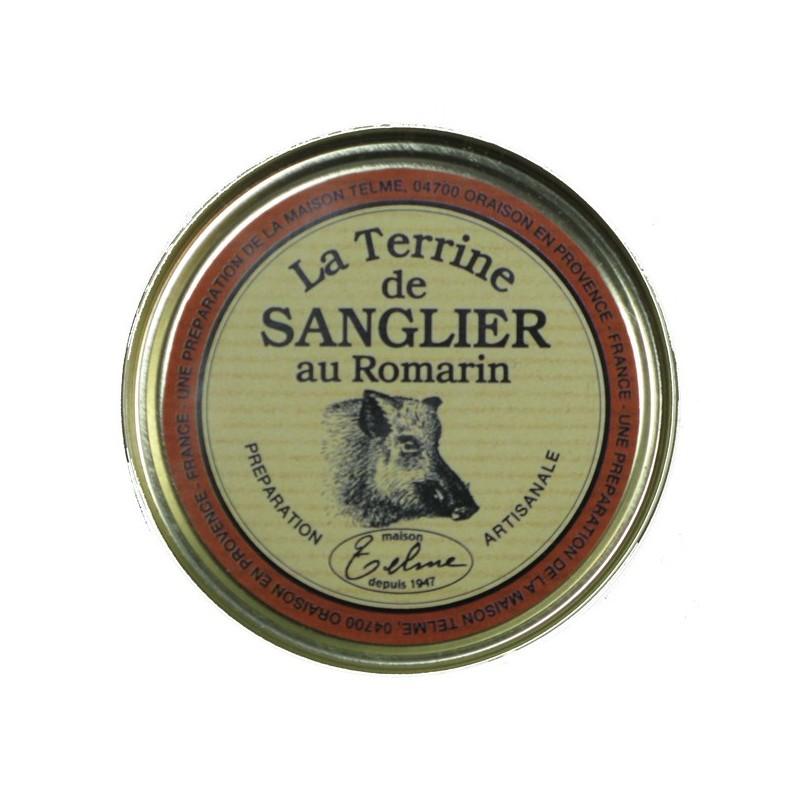 Terrine de sanglier au romarin maison telme terrine - Cuisiner du sanglier au four ...