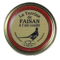 Terrine de faisan à l'ail confit