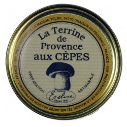 Terrine de Provence aux cèpes