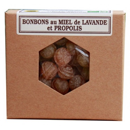 Organic propolis honey candies