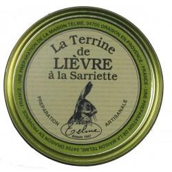 "Hare pâté with ""sariette"""