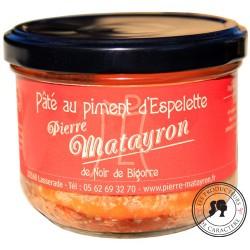 Pâté de noir de Bigorre au piment d'Espelette