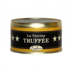 Pork pâté with black truffle
