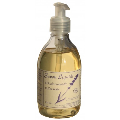 Savon liquide BIO à l'huile essentielle de lavandin