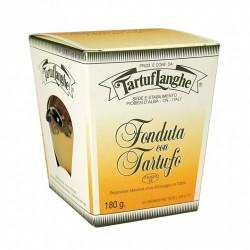 Fondue de fromage Fontina à la truffe