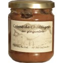Crème de châtaignes au gingembre