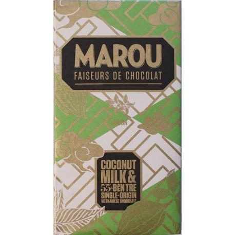 Chocolat Marou Coconut Milk 55% Ben Tre