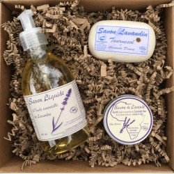 Coffret beauté BIO aux huiles essentielles de Lavandin