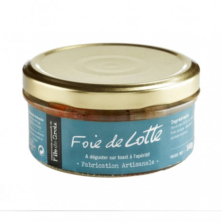 Foie de lotte - Conserverie artisanale de L'ile de Groix