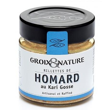 Rillettes de Homard au Kari Gosse