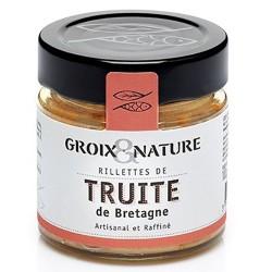 Rillettes truite de Bretagne - Conserverie Ile de Groix