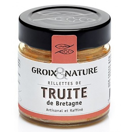 Brittany's trout rillettes - Groix Island
