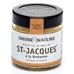 Rillettes Noix de St Jacques à la bretonne - Groix et Nature