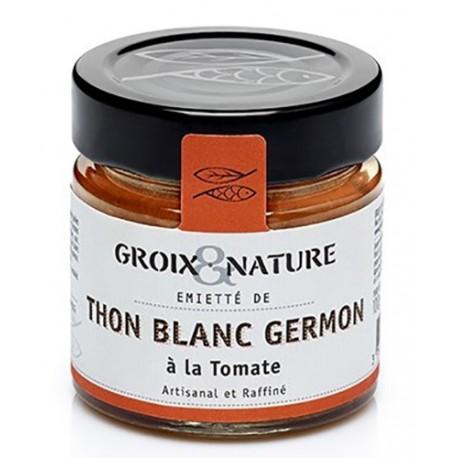 Émietté de thon à la tomate - Groix Nature
