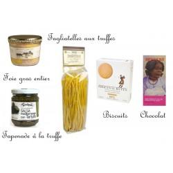 Foie gras, Truffles & Sweets