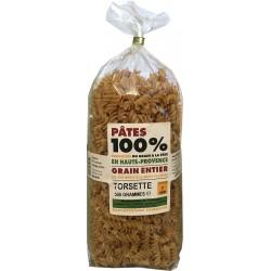 Torsette - Pâtes au grain entier