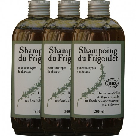 Shampoo du Frigoulet - By x 3