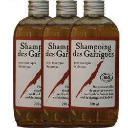 Shampoing des garrigues - Lot de 3
