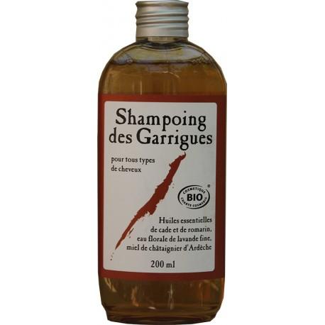 Shampoing des garrigues aux huiles essentielles BIO