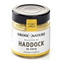 Haddock rillettes with curry