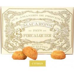Macarons citron (sans gluten)
