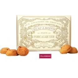 Macarons framboise sans gluten- Biscuiterie de Forcalquier