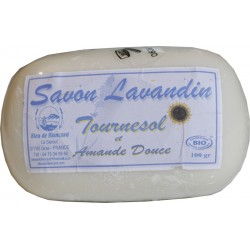 Organic lavender oil soap