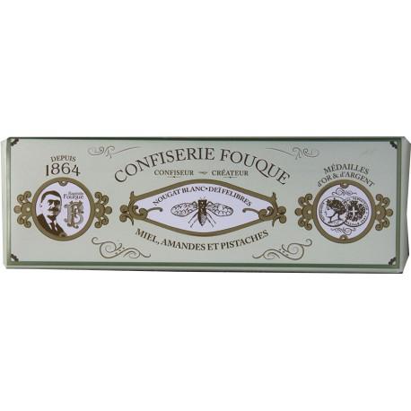Nougat amande pistache - Nougat blanc tendre - Confiserie Fouque