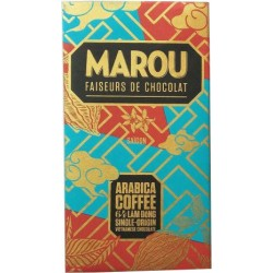 Chocolat Marou au café Arabica Lam Dong 64%