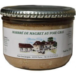 Marbré Duck foie gras and magré