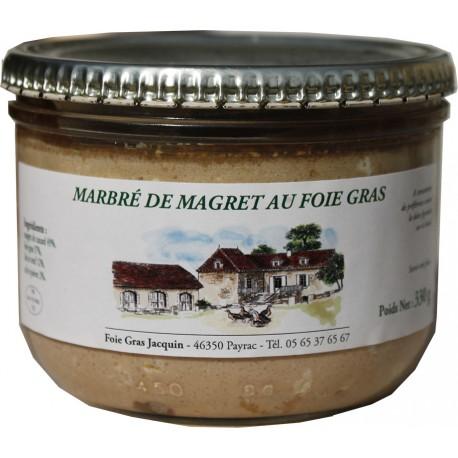 Marbré de Magret au Foie Gras - Foie gras Jacquin La Gourmande