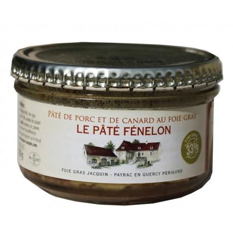 Pâté FENELON au Foie Gras 33%  - Foie gras Jacquin La Gourmande - 130g