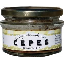 Terrine artisanale aux cèpes