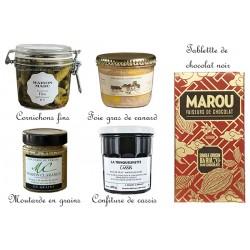 Panier gourmand - Produit du terroir