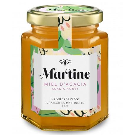 Miel d'acacia 250g - Miel Martine - Château la Martinette