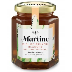 White heather honey 250g  - Martine Honey