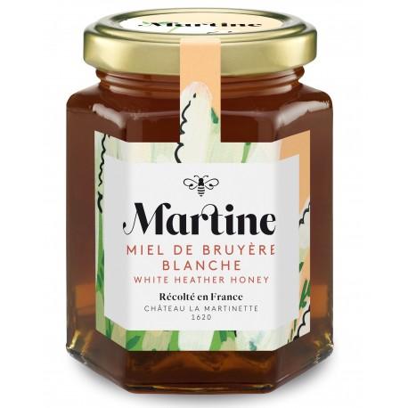White heather honey 250g  - Martine Honey