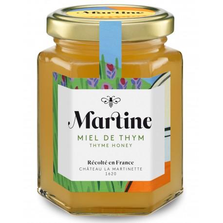 Miel de Thym250g - Miel Martine, Château La Martinette 1620