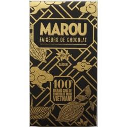 Chocolat Marou 100% cacao - sans sucre ajouté