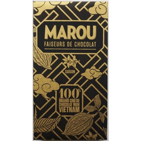 Marou chocolate 100% cocoa
