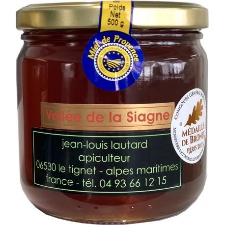 Miel Vallée de la Siagne IGP Provence