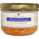 Rillettes 100% Canard au piment d'Espelette